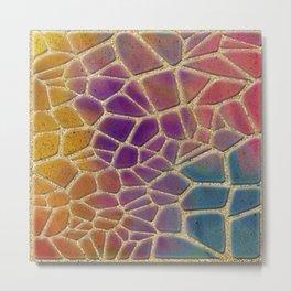 sand and pebbles Metal Print
