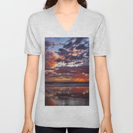 Blackies Sunset Unisex V-Neck