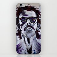 chuck iPhone & iPod Skins featuring Chuck Close by Susie (Zsuzsi) Czompo