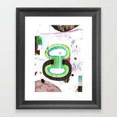 des6 Framed Art Print