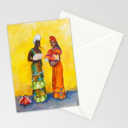 Flower Ladies Stationery Cards