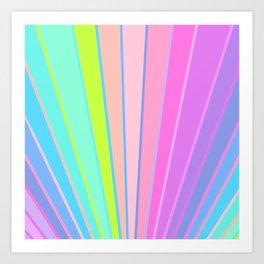 Candy Sunrise Art Print