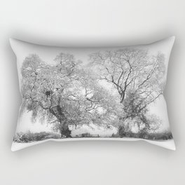 Snowbound Rectangular Pillow