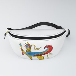 egyptian character weird creature Fanny Pack