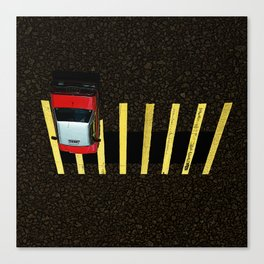 Inverted Taxi Canvas Print