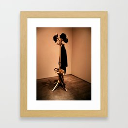 Hang Your Coat Up Framed Art Print