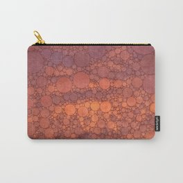 Percolated Sunset in Warm Tones Carry-All Pouch