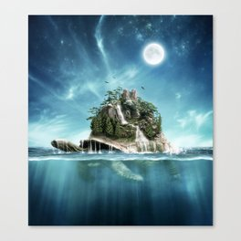 Turtle Island Canvas Print