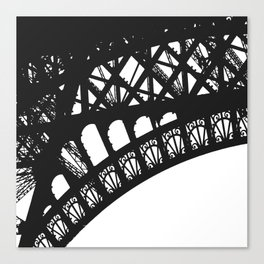 Eiffel Detail Canvas Print