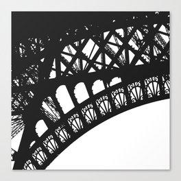 Eiffel Detail Canvas Print