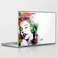 monroe Laptop & iPad Skins featuring Monroe. by David