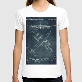 LOCKHEED CONSTELLATION - First flight 1943 T-shirt