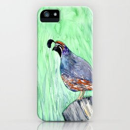 Quirky Fellow iPhone Case