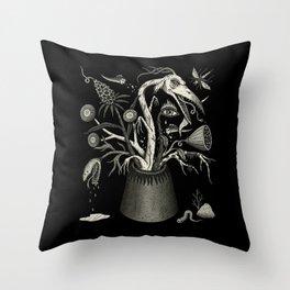 Fierce Bouquet Throw Pillow