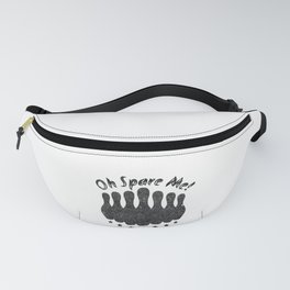 Bowling Oh Spare Me! Bowler Fanny Pack
