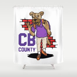 CB Goon Shower Curtain