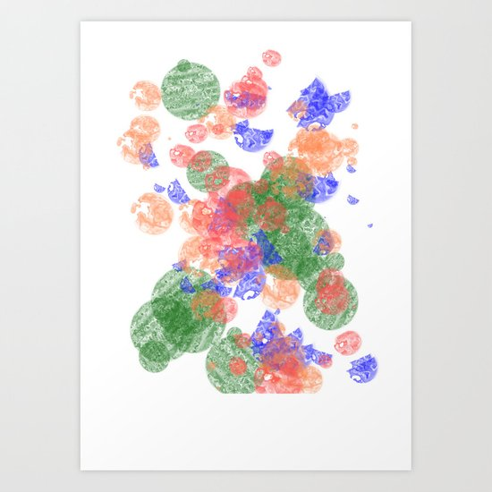 The Bubbles Art Print