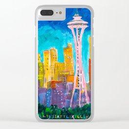 Expression Seattle Clear iPhone Case