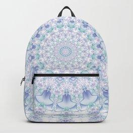 Purple, Blue, and Green Pastel Mandala Backpack