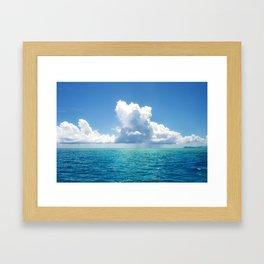 Magic water Framed Art Print