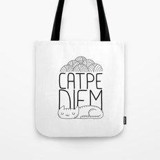 CATPE DIEM Tote Bag