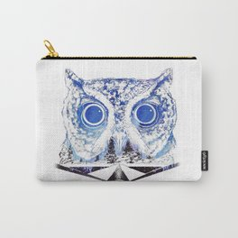 Lost Owl in the Night Sky Carry-All Pouch
