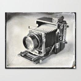 Grafflex Camera Tintype Canvas Print