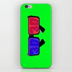 Green Screen 3D iPhone & iPod Skin