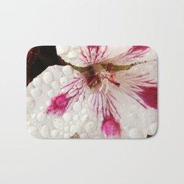 Flowers in the Summer Rain Bath Mat