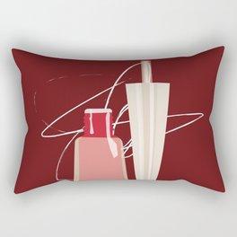 When Red Meets RED Rectangular Pillow