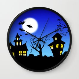 Halloween Nightmare Wall Clock