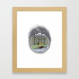 Aventuring Framed Art Print