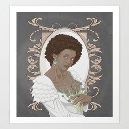 Chives Art Print