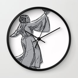 Princess Lei-Up! Wall Clock