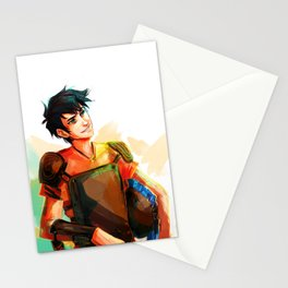 son of poseidon  Stationery Cards