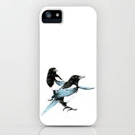 Magpie Dual iPhone Case