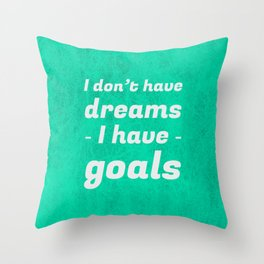 The One Striving for Success Throw Pillow