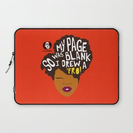 'Fro Page Laptop Sleeve