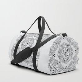 elegant meditation mandala Duffle Bag