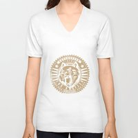 tigers V-neck T-shirts featuring Superspeed Tigers by Tshirt-Factory