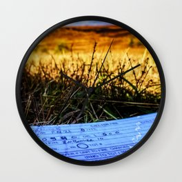 Home on the Range Wall Clock