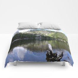 Serene Morning At Bear Lake Comforters