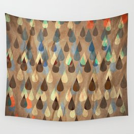 Rain on me Wall Tapestry