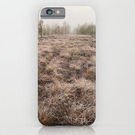 Arctic swamp iPhone Case