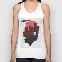 the walking dead Tank Tops featuring Walking Dead by SirGabi