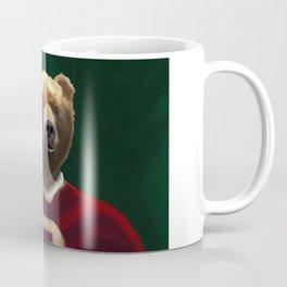 Big Red Bear Portrait Coffee Mug
