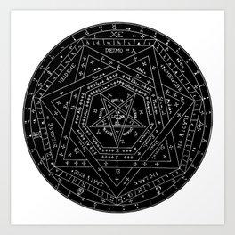 Sigillum Dei Art Print