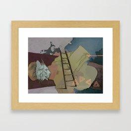 Coco's Lion Framed Art Print