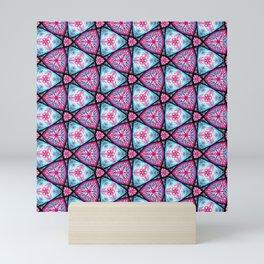 Kaleidoscope Cane - Digital Art Mini Art Print