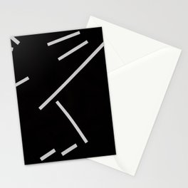 Diagonals II Stationery Cards